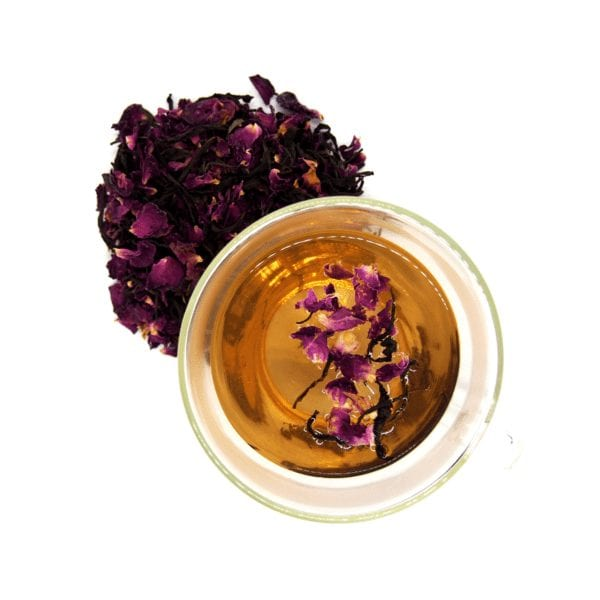 Organic Oolong Rose Tea / Gram - Zero Waste Bali