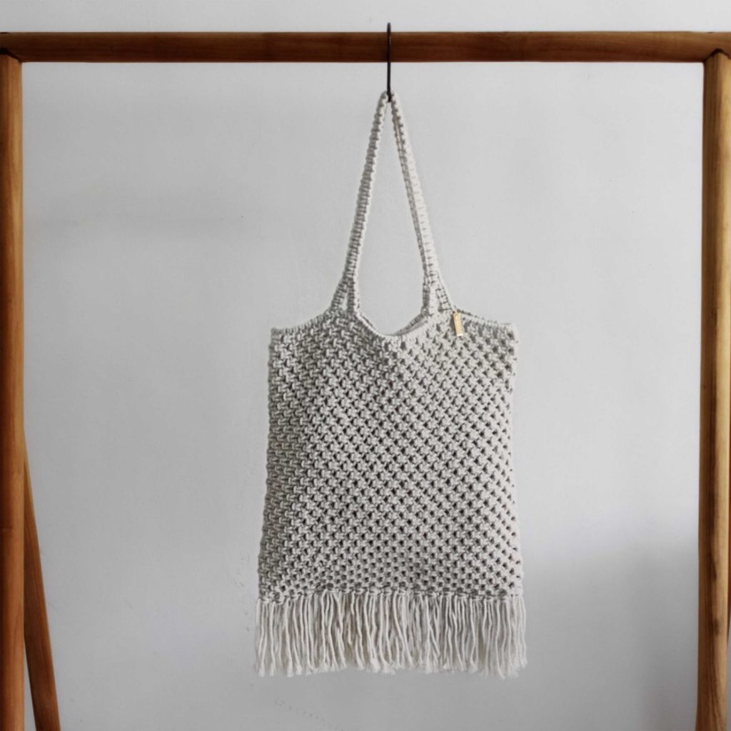 The Chicama Macrame Bag / Each - Zero Waste Bali