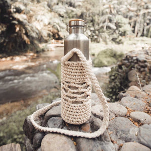 The Jambu Macrame Bottle / Each - Zero Waste Bali