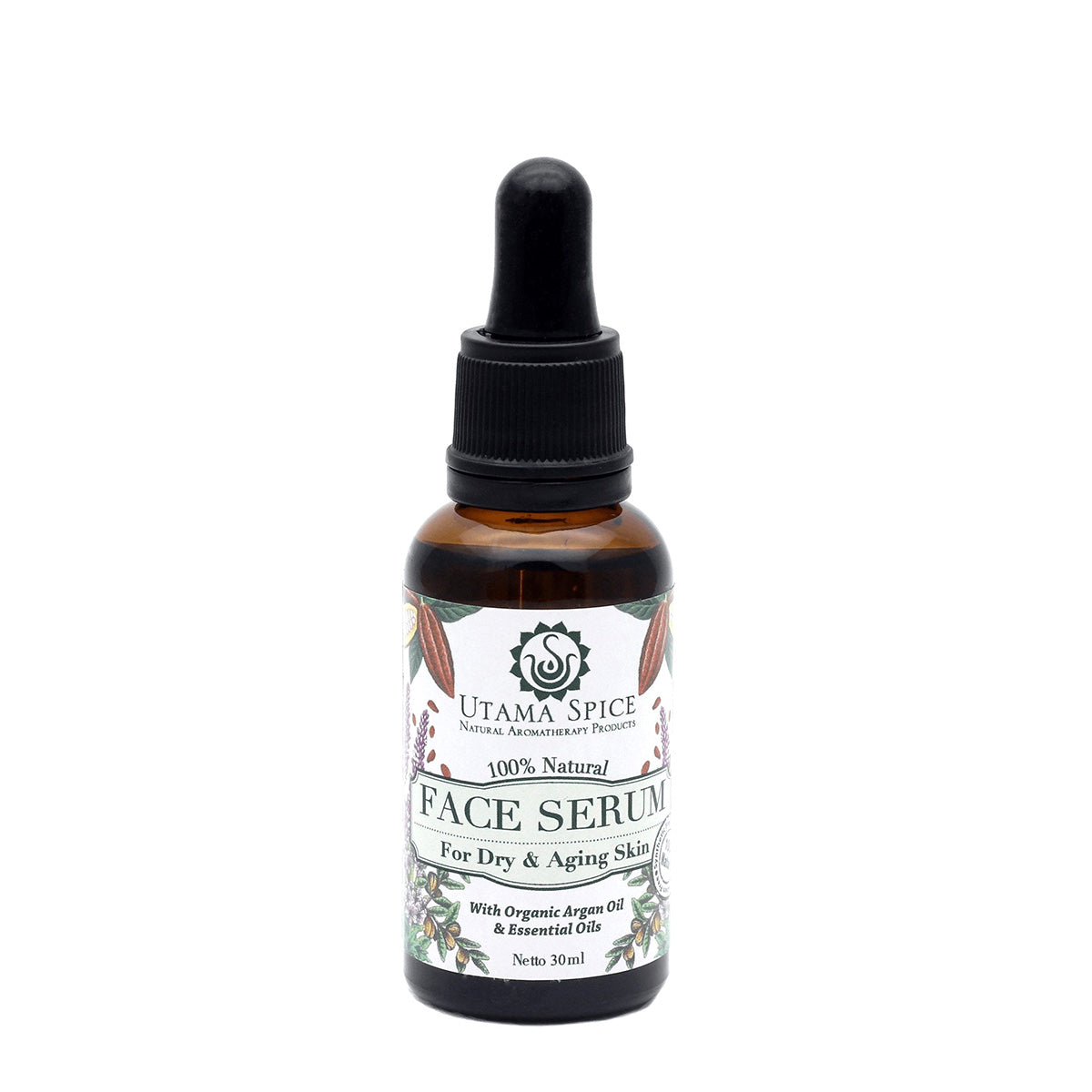 Utama Spice 100% Natural Face Serum 30ml / Each - Zero Waste Bali