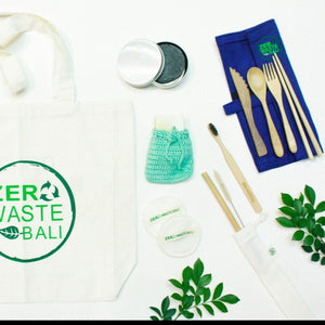 ZERO WASTE TRAVEL KIT 1 - Zero Waste Bali