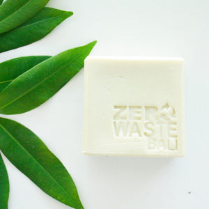 Unscented Castile Soap Bar / Each - Zero Waste Bali