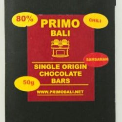 Chocolate Primo - Balinesse Chilli 50 gram