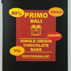 Chocolate Primo -Balinesse Orange 50 gram