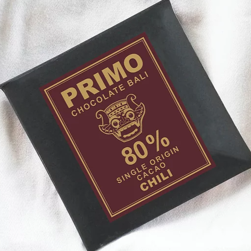 Chocolate Primo - Balinesse Chilli 25 gram