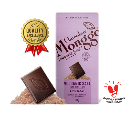 Chocolate M-Volcanic Salt Tablet 80 gram