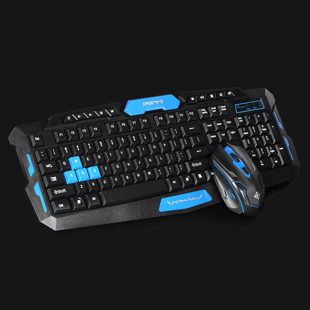 Wireless Professional Gaming Keyboard + Mouse