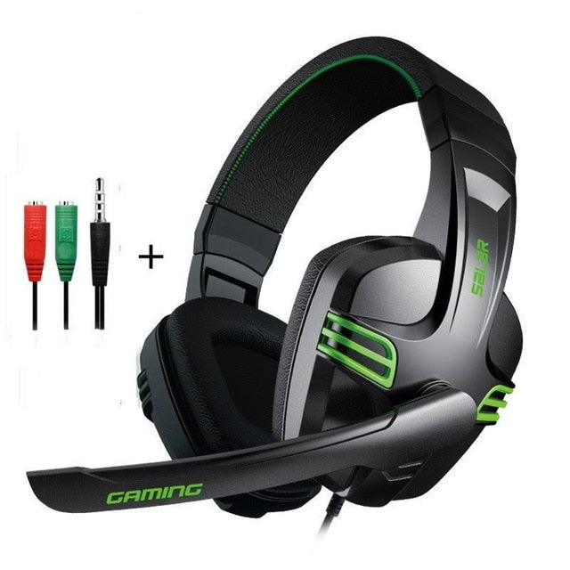 Lighted Gaming Headset + Noise Cancelling