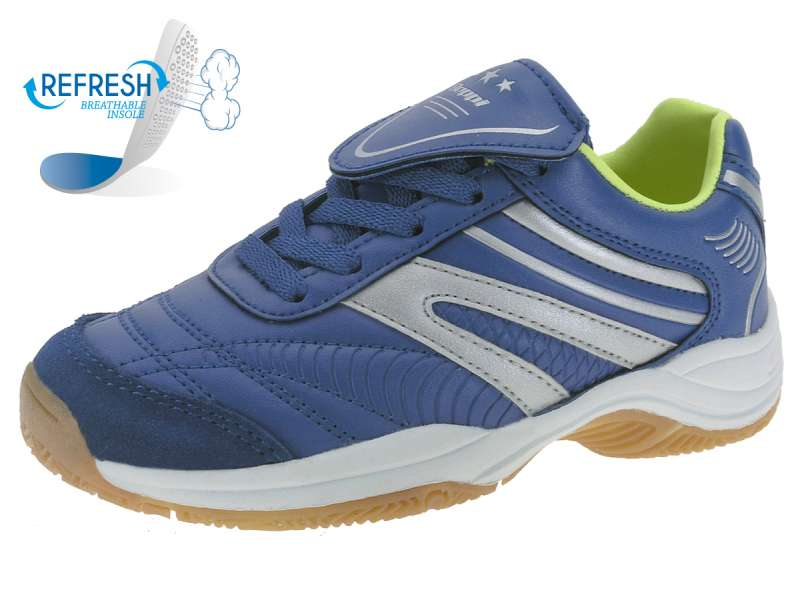 Kinder Sneakers Sportschuh in Blau