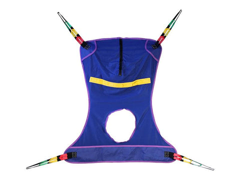 FULL body with commode cuts out patient sling lift - PUREUPS