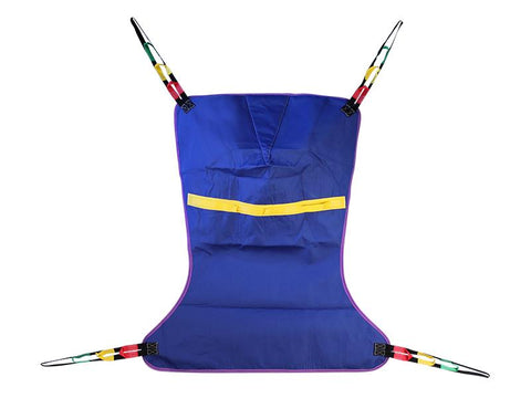 Full body patient lift sling with head support - PUREUPS
