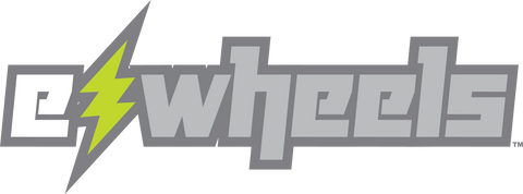 ewheels mobility powered scooters and electric scooter logo