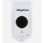 Hand Sanitizer Magicare Touchless Wall Mounted 1000 ml White Automatic Hand Sanitizer / Soap Dispenser - PureUps
