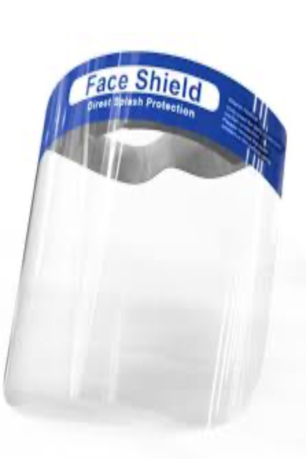 sneeze guards, productive guards, portable guards Face Shield 5/pack, with Adjustable Elastic Band for All Sizes. - PureUps