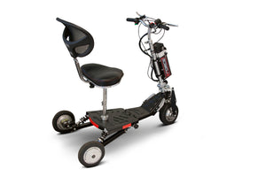 3WHEEL SCOOTER EW-07 Eforce 3 Wheel Mobility Scooter-Airline Approved - Lithium Battery By E-Wheels - PureUps