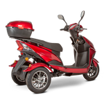 3WHEEL SCOOTER EW-10 Electric 3 Wheel Sport Mobility Scooter By E-Wheels FULLY ASSEMBLED - PureUps