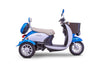 3WHEEL SCOOTER EW 11 / EURO Style 3-Wheels Mobility Electric Sport - 2 Passenger Scooter - FULLY ASSEMBLED - PureUps