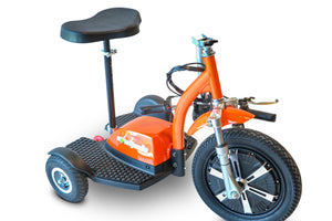 3WHEEL SCOOTER EWheels EW18 TURBO 3 Wheel Mobility Recreational Scooter Stand-N-Ride - PureUps