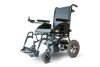 power wheelchair EW-M47 Heavy-Duty Folding Lightweight Travel Power Wheelchair By E-Wheel Medical - PureUps