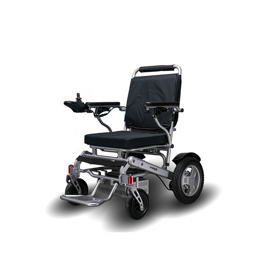 ew-m45 power wheelchair sliver side image