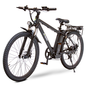 ew rugged ebike blk side image