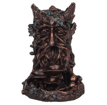 Load image into Gallery viewer, Bronze Effect Tree Man Backflow Incense Burner