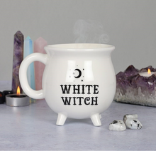 Load image into Gallery viewer, White Witch Cauldron Mug