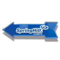 Embossed Aluminum Arrow Sign | 5012-AS1 - Dixiline