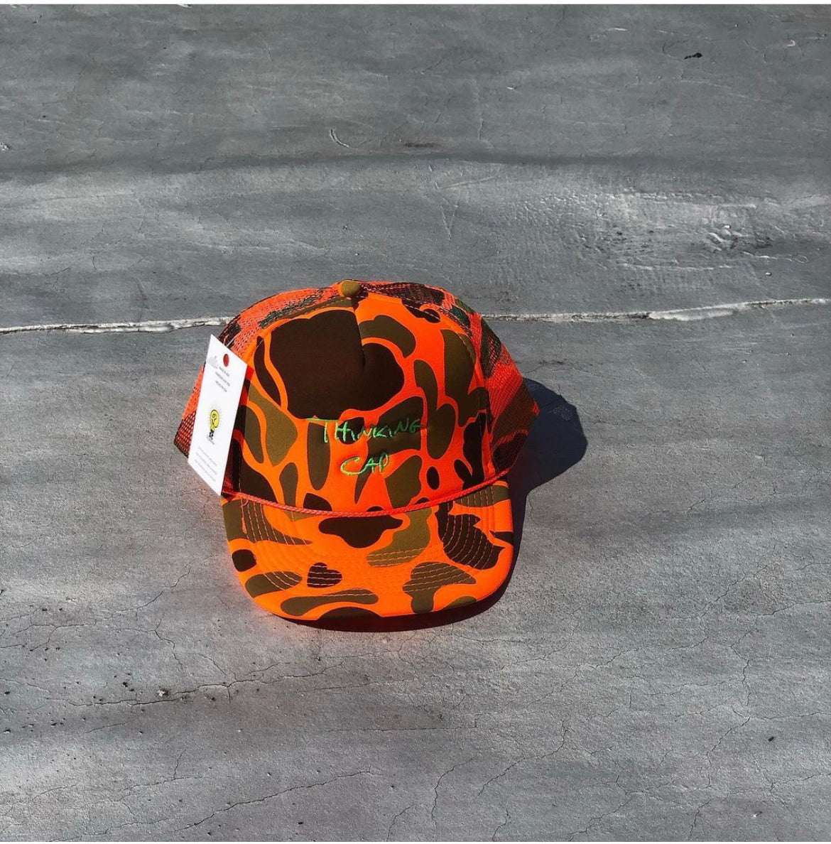 THINKING CAP CAMOUFLAGE ORANGE (LIMITED)