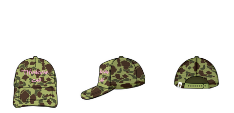 THINKING CAP CAMOUFLAGE (LADY LONDON LIMITED EDITION)