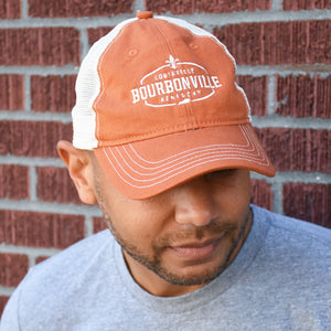 Bourbonville Hat - Orange