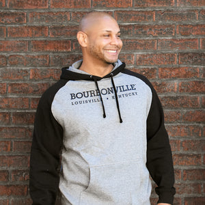 Adult Hooded Raglan Sweatshirt