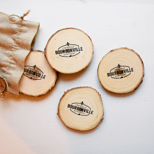 Bourbonville Coaster Set
