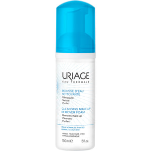URIAGE Cleansing Make-Up Remover Foam 5 fl.oz.