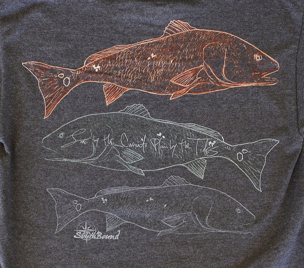Redfish Trio Long-Sleeve