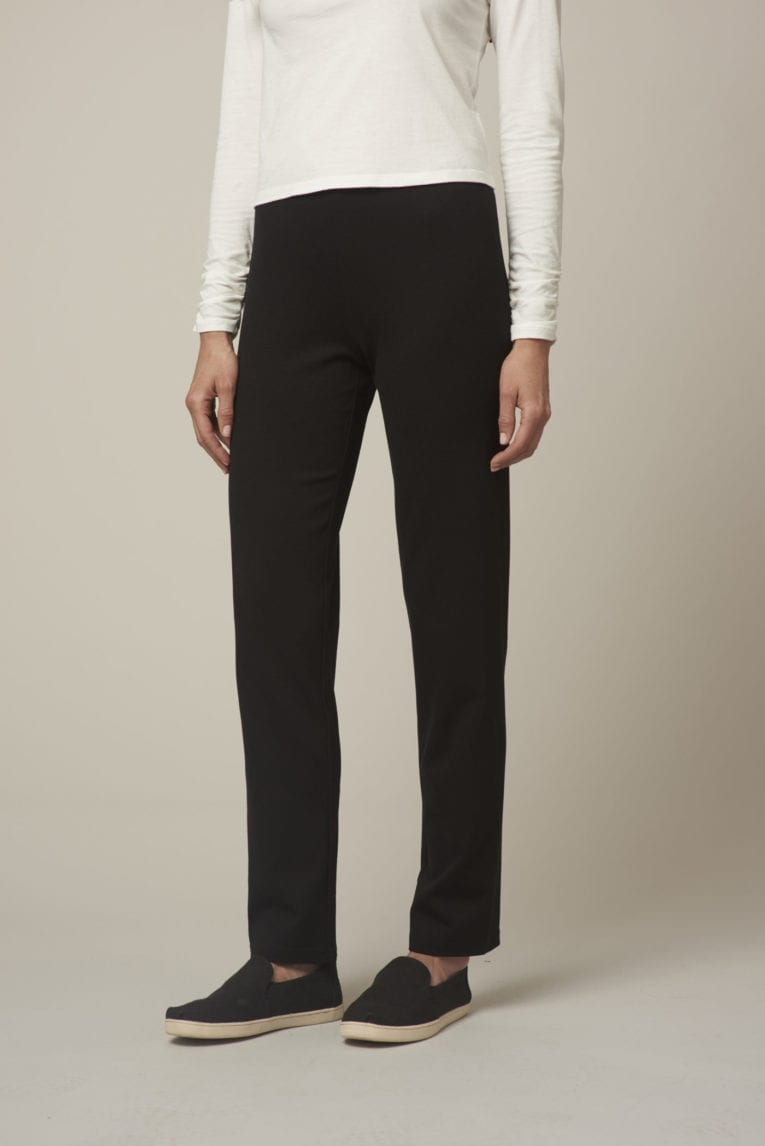 Ponte Slightly Tapered Pant