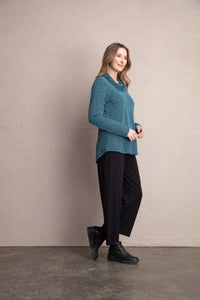 HABITAT Crossroads Pucker Drape Neck Tunic