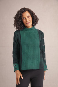 HABITAT Windowpane Double Face Pullover