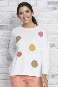 COTTON COUNTRY Dot Dot Dot Pullover