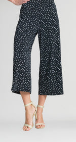 Load image into Gallery viewer, Mini Tulip Print Pull On Gaucho Pant