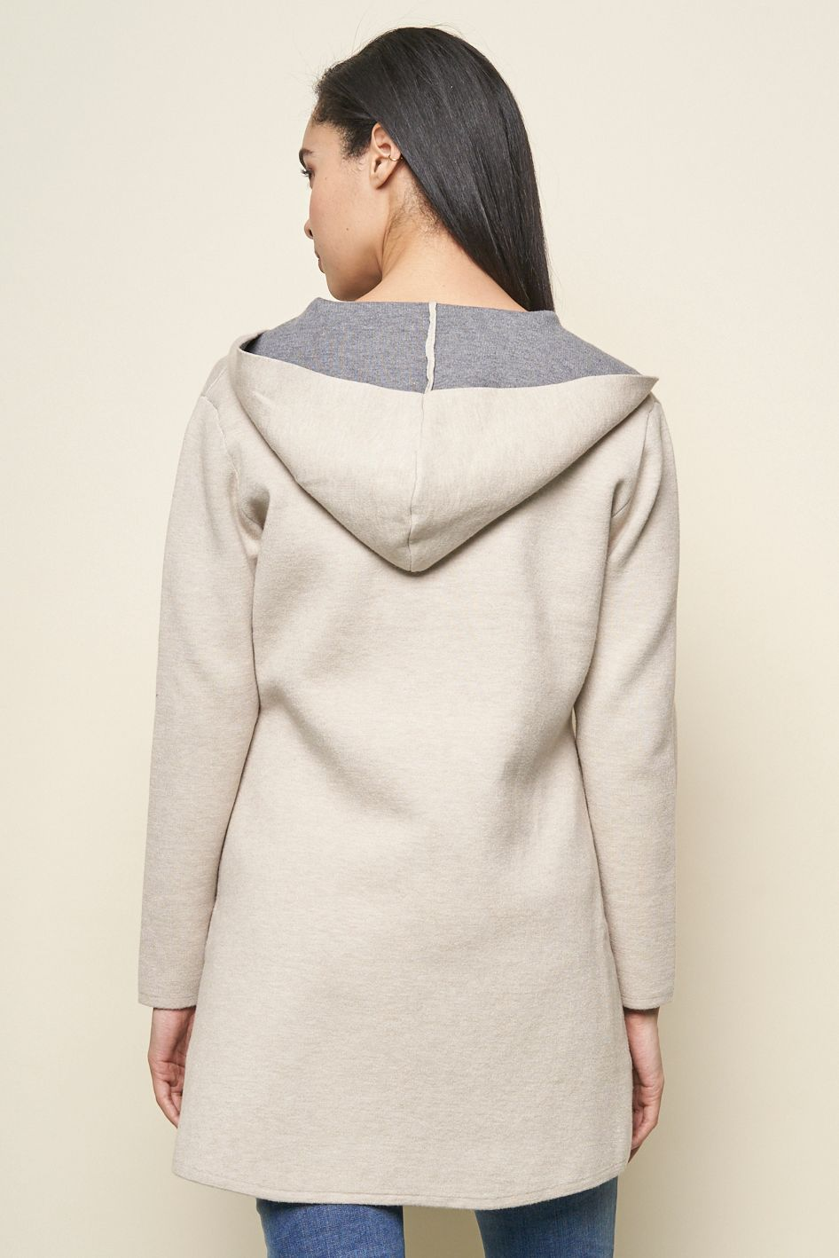 Noreen 2 Tone Hooded Jacket