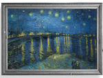 Load image into Gallery viewer, Van Gogh's Starry Night Over the Rhone Reusable Fabric Face Mask