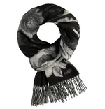 Load image into Gallery viewer, Garden Floral Woven Cashmink Scarf