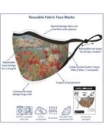 Load image into Gallery viewer, Van Gogh's Carnations Reusable Fabric Face Mask