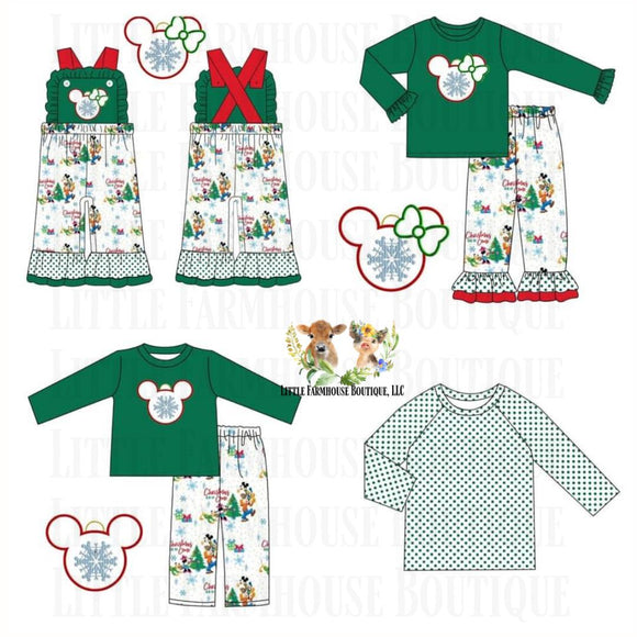 Mouse Christmas Collection ETA November