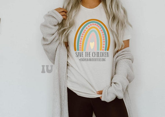 Save the Children Tees ETA September