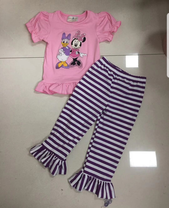 Minnie and Daisy Pant Set
