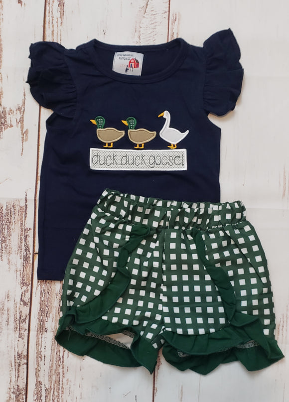 Duck Duck Goose Girl Set