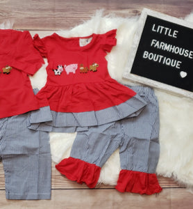 French Knot Farm Girl Set