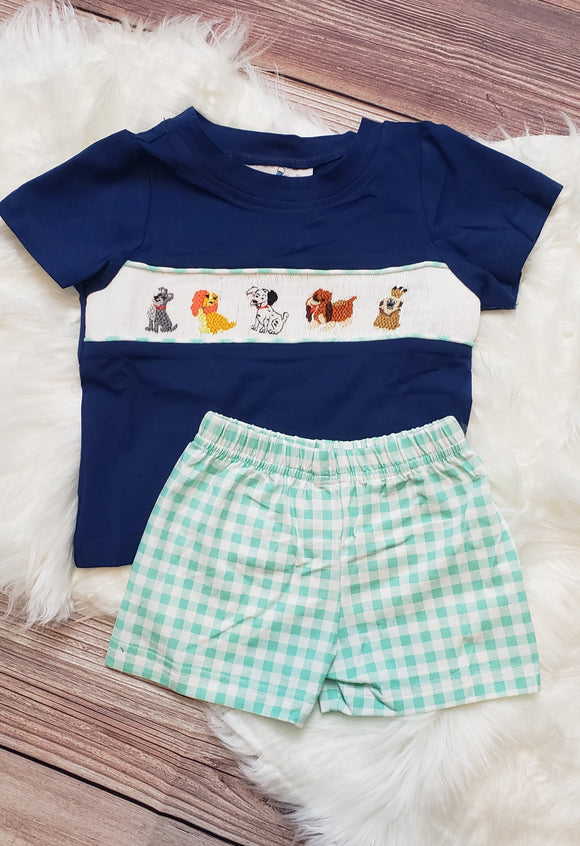 Smock Disney Dog Set Boy